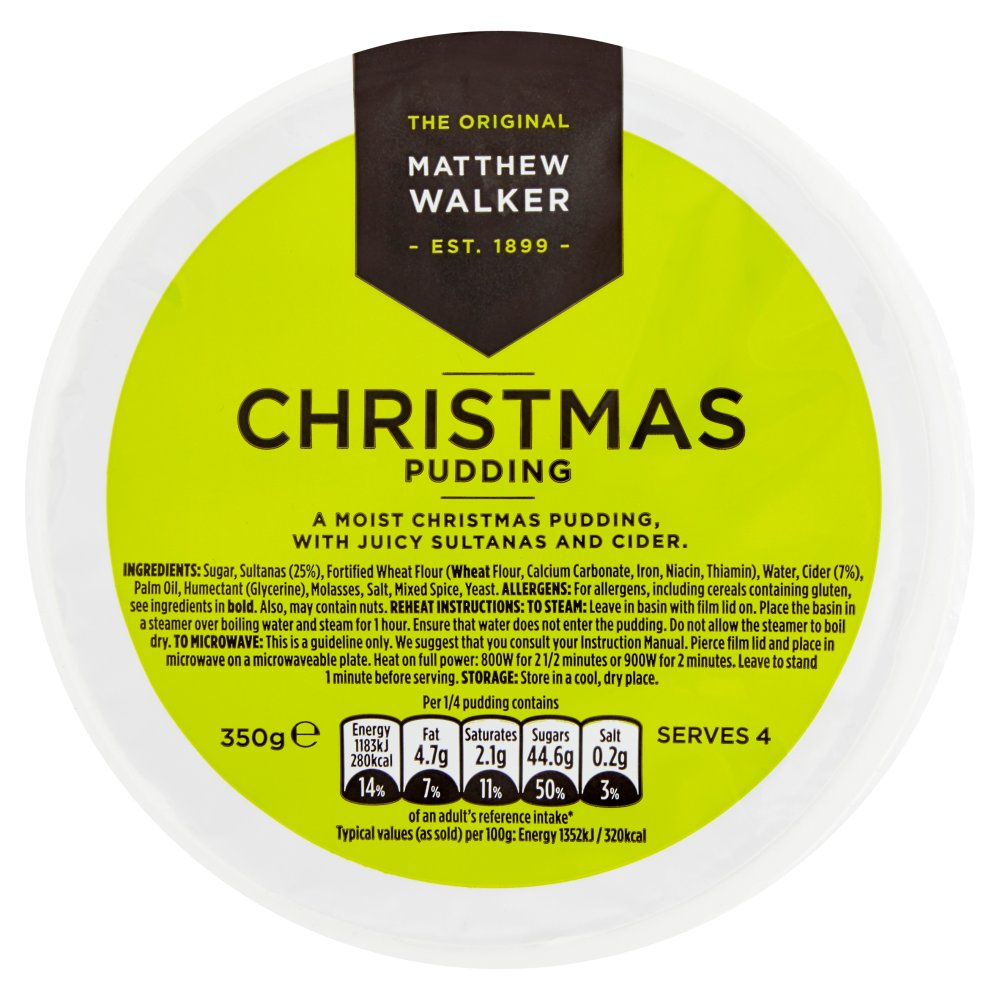 Mathew Walker Simply Christmas Pudding
