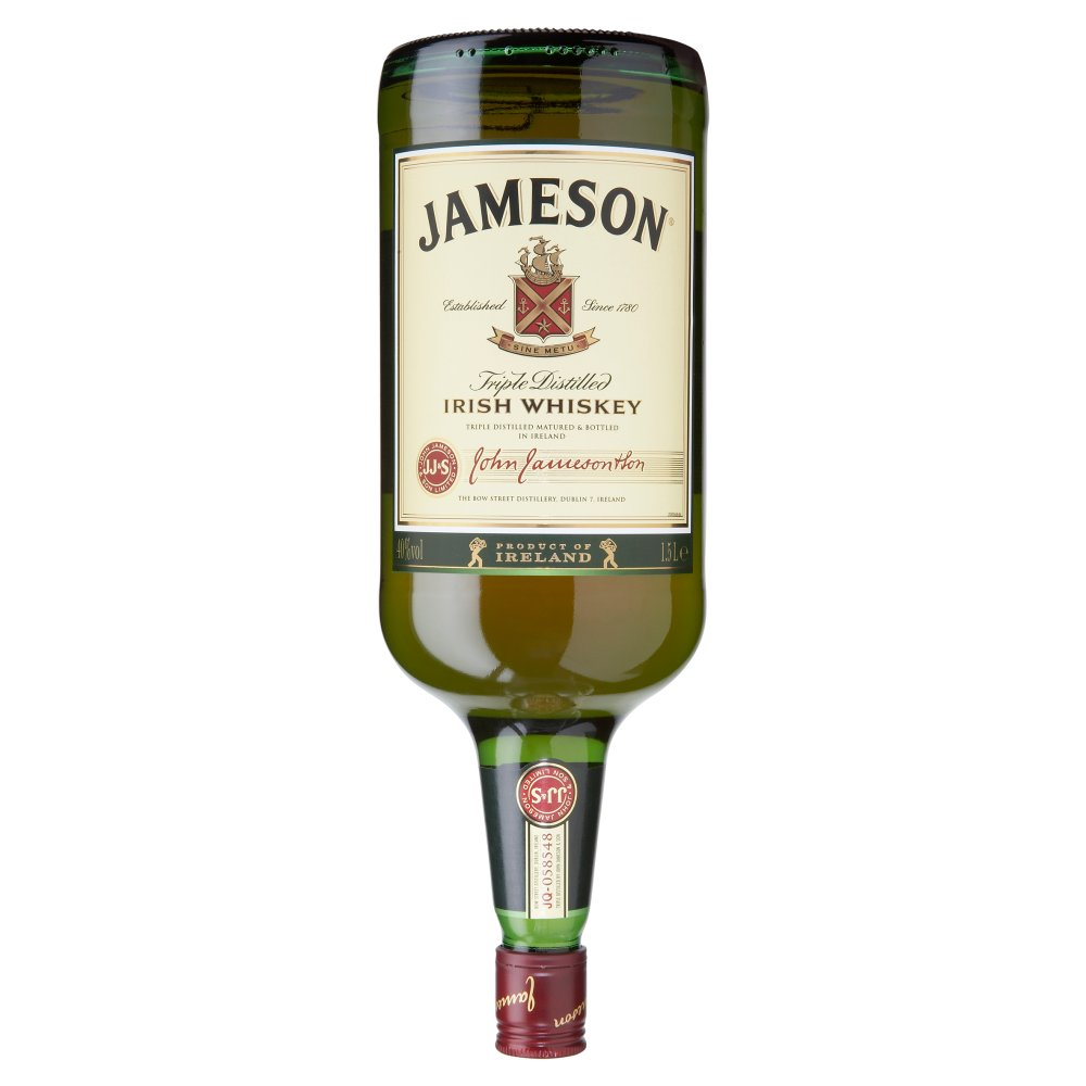Jamesons Irish Whiskey 1.5Ltr