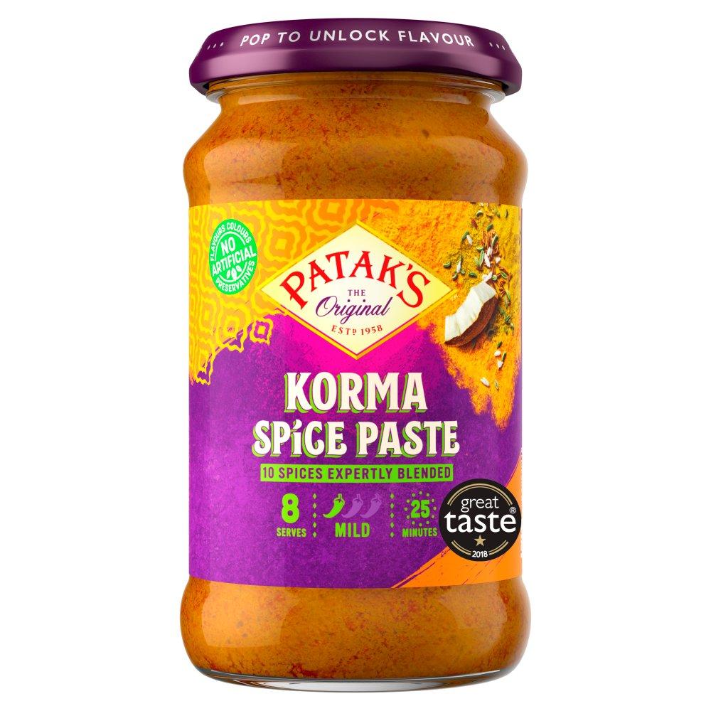 Patak's The Original Korma Spice Paste 290g