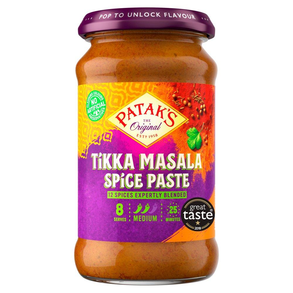 Patak's The Original Tikka Masala Spice Paste 283g