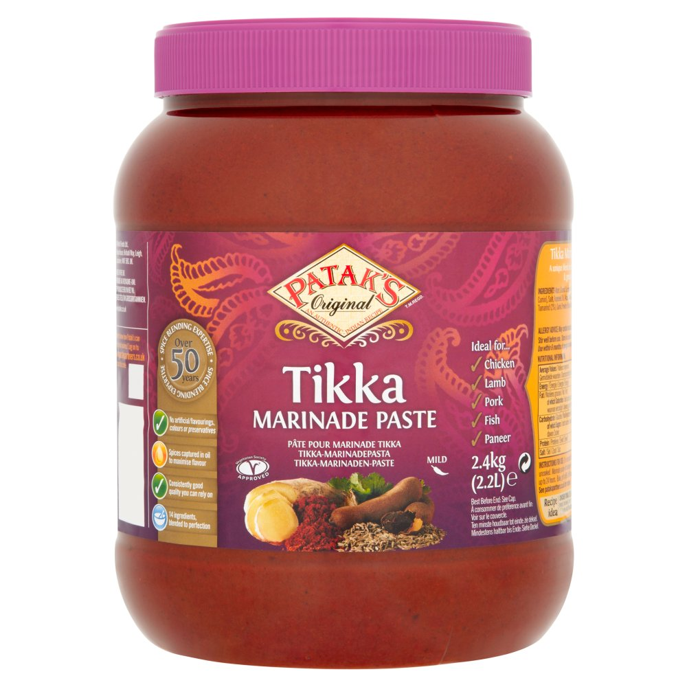 Patak's Original Tikka Marinade Paste 2.4kg