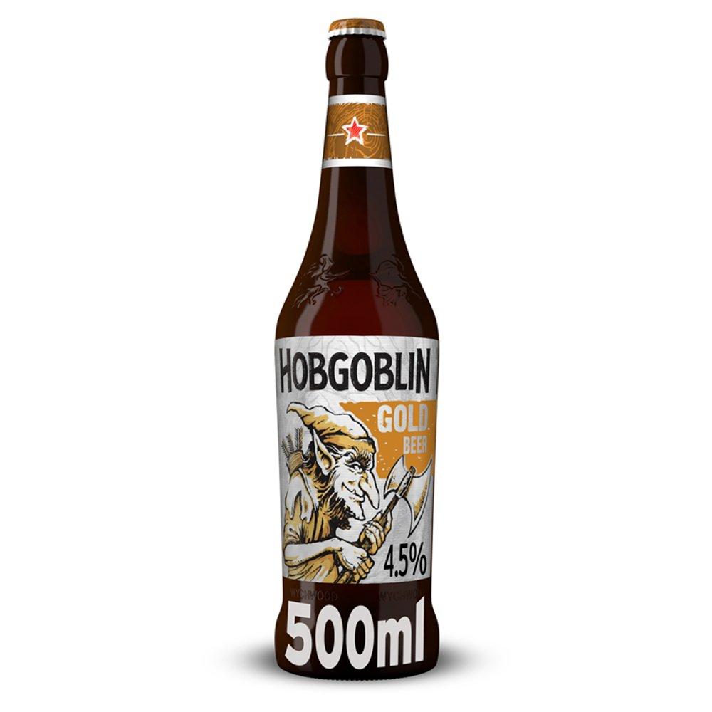 Wychwood Brewery Hobgoblin Gold Beer 500ml