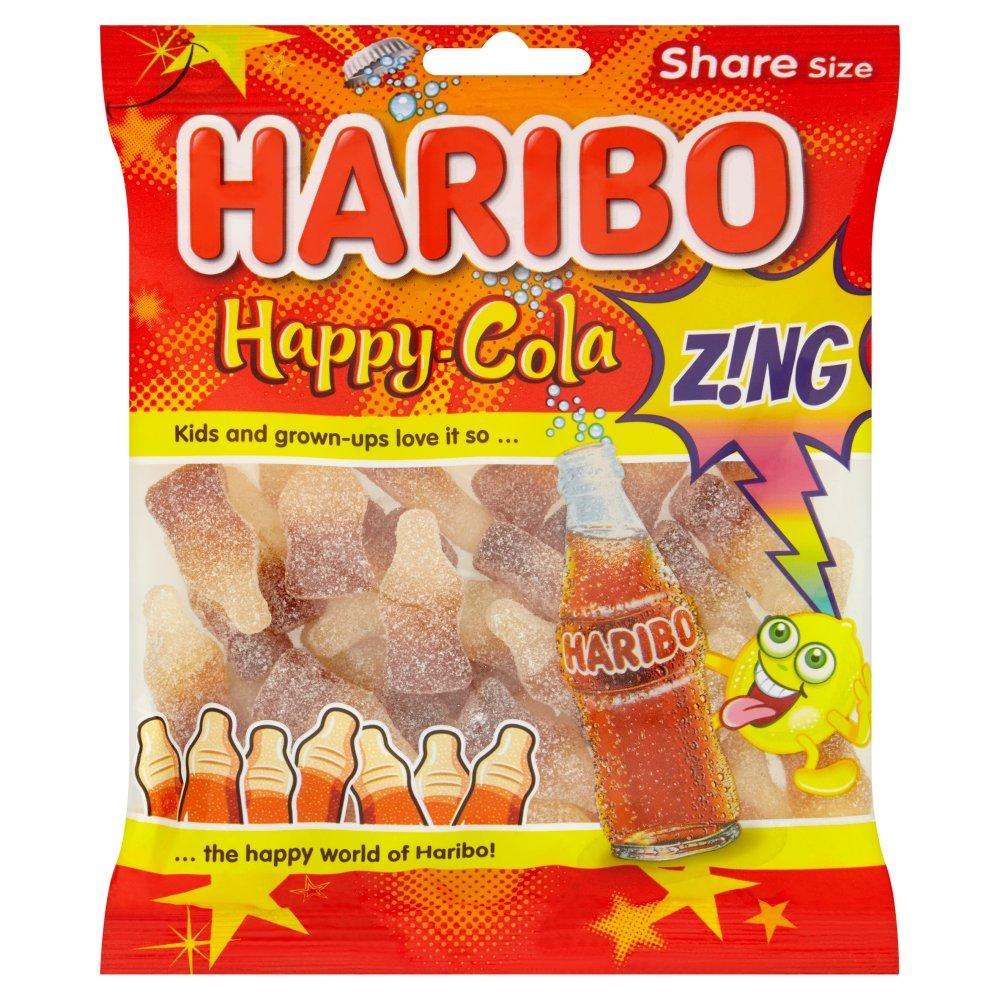 haribo happy cola z ng bag 140g bestway wholesale