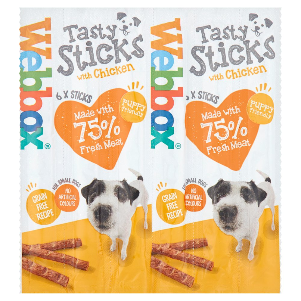 Webbox Delight Chicken Stick 6pk