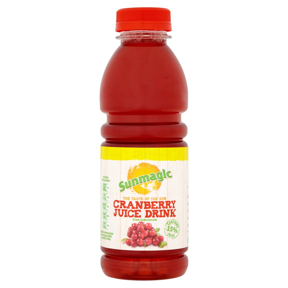 Sunmagic Cranberry Juice PM 99p