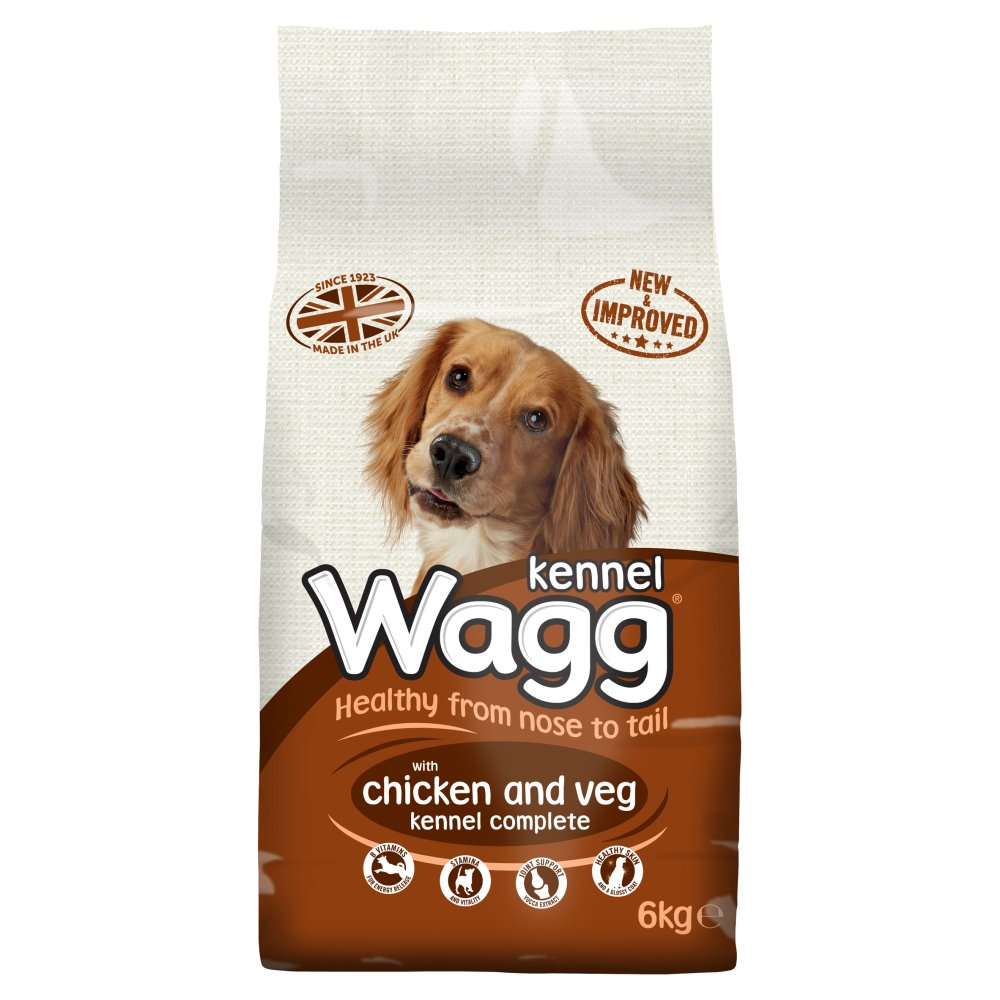 Wagg Complete Kennel Chicken