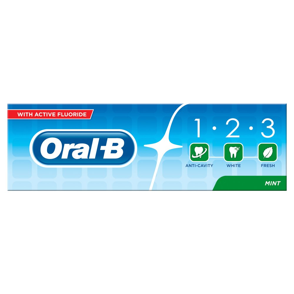 Oral - B 123 Toothpaste £1