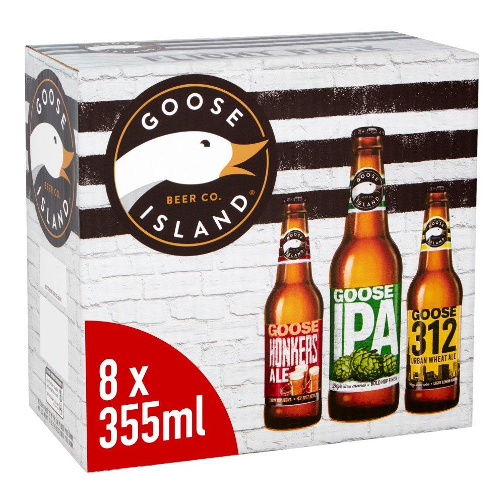 Goose Island Flight Pack Craft Beer Bottles 8 x 355ml