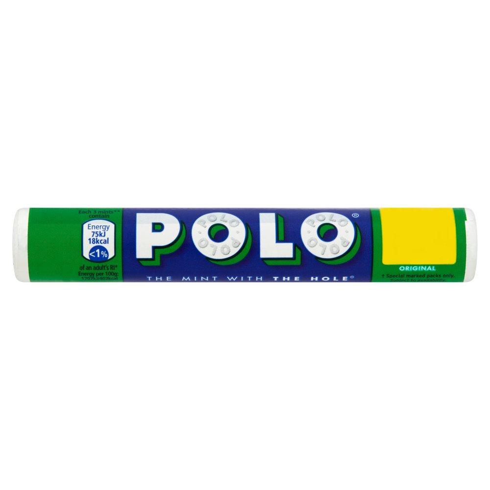 Polo Original Mint Tube 34g 2 for £1