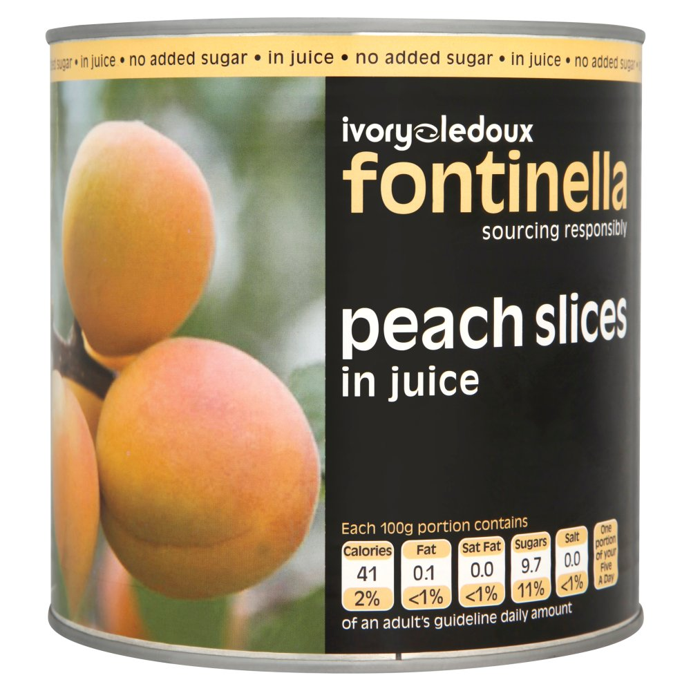 P/L Peach Slices Jce 2.6