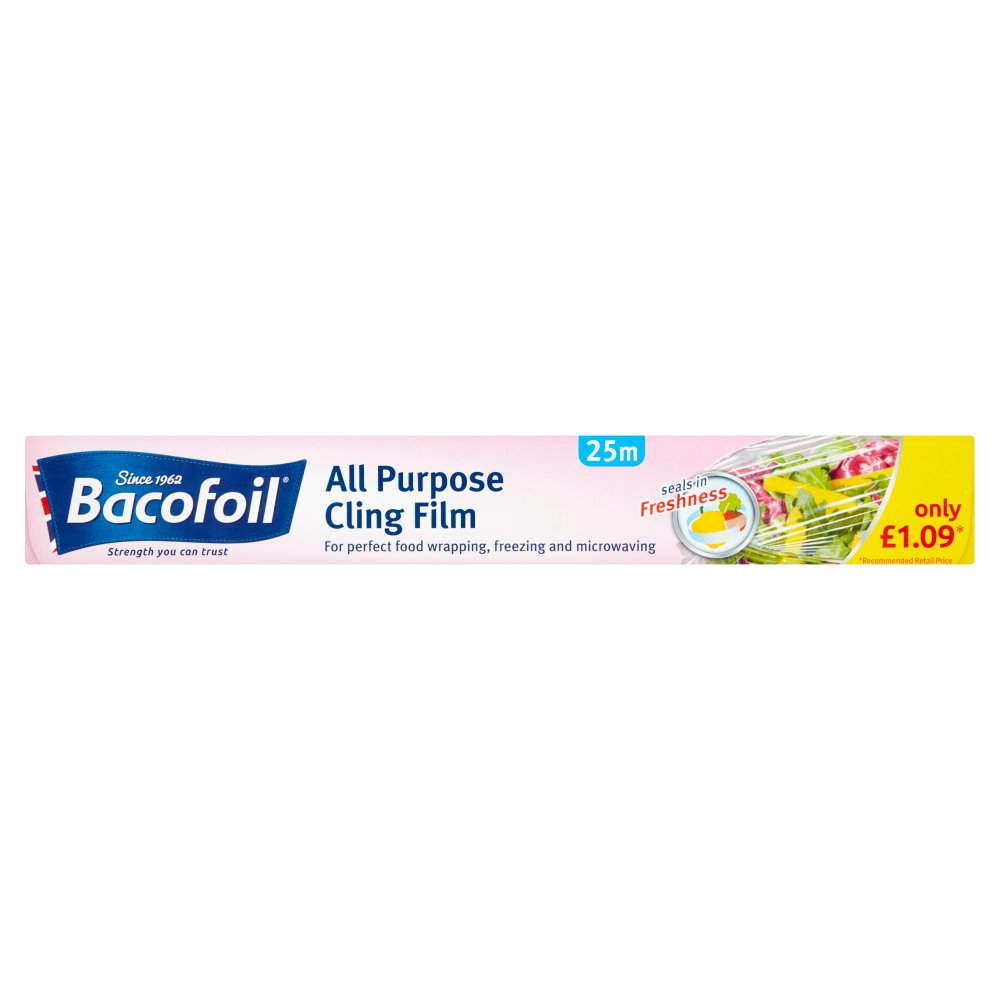 Bacofoil® All Purpose Cling Film 30cm x 25m £1.09 PMP