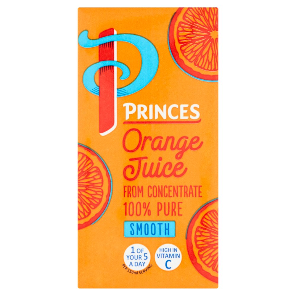 Princes Orange Juice 200ml