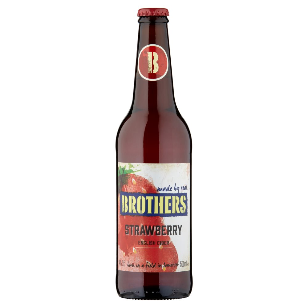 Brothers Strawberry 4% 500ml