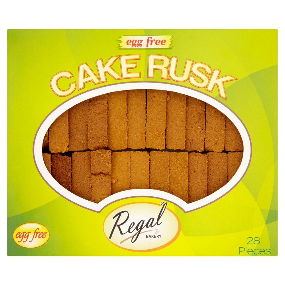 Regal Cake Rusk Egg Free