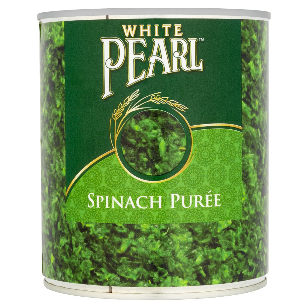 White Pearl Spinach Puree