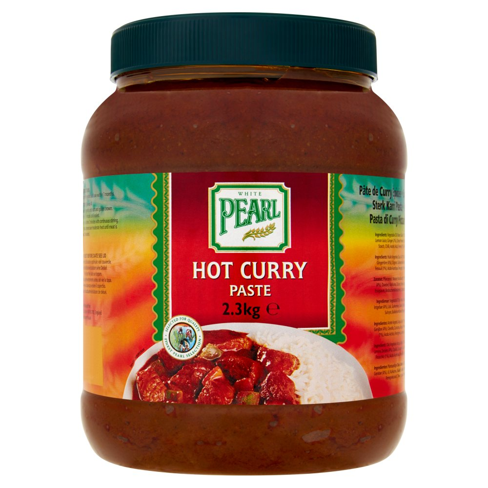 White Pearl Hot Curry Paste 2.3Kg