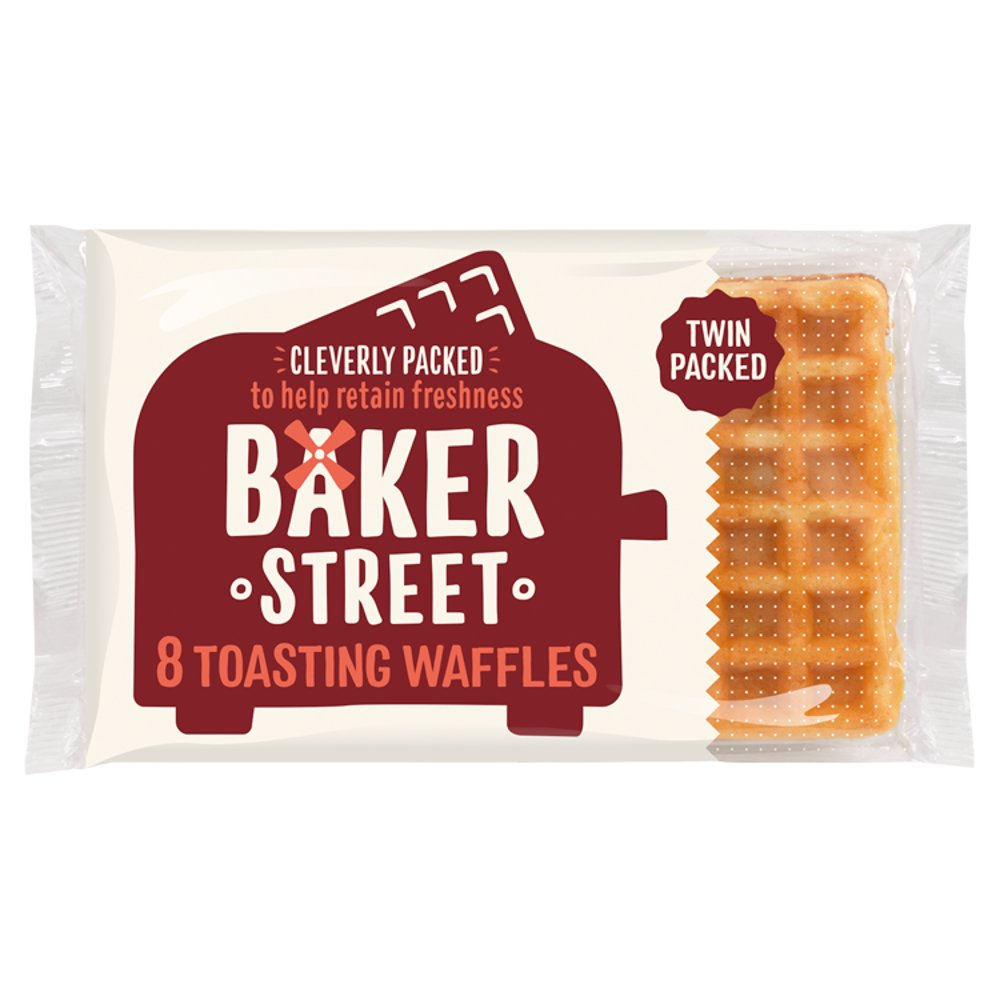Baker Street 8 Toasting Waffles 200g