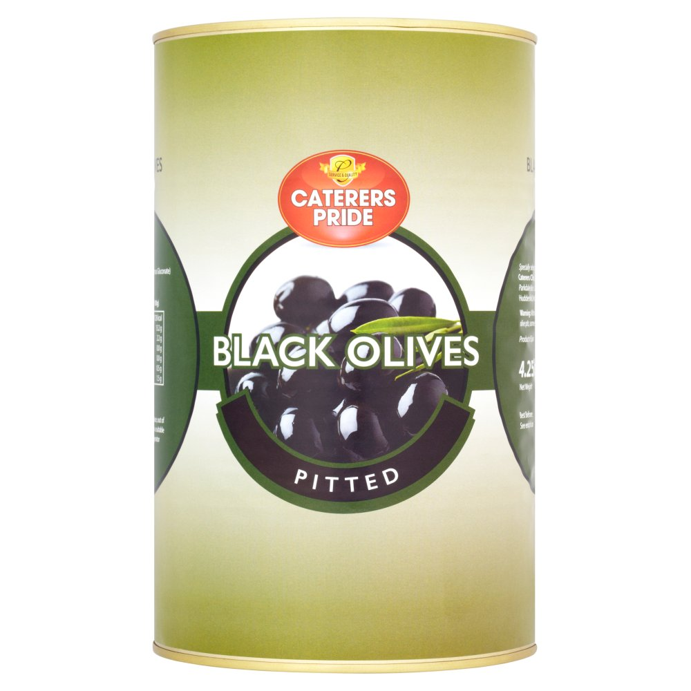 Caterers Pride Pitted Black Olives