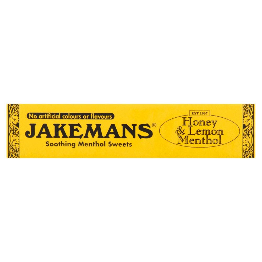 Jakemans Honey & Lemon Menthol Soothing Menthol Sweets 41g