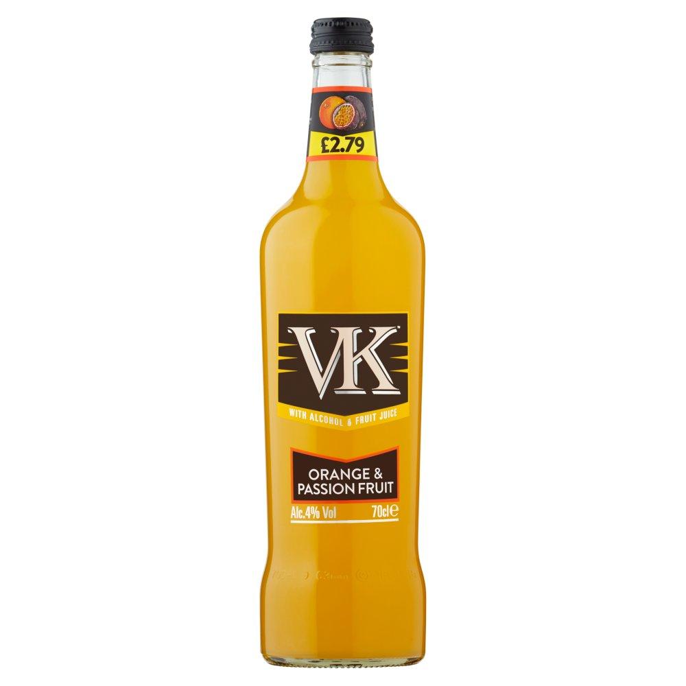 VK Orange & Passion Fruit 70cl