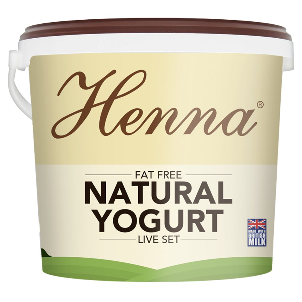 Henna Very Low Fat Yogurt