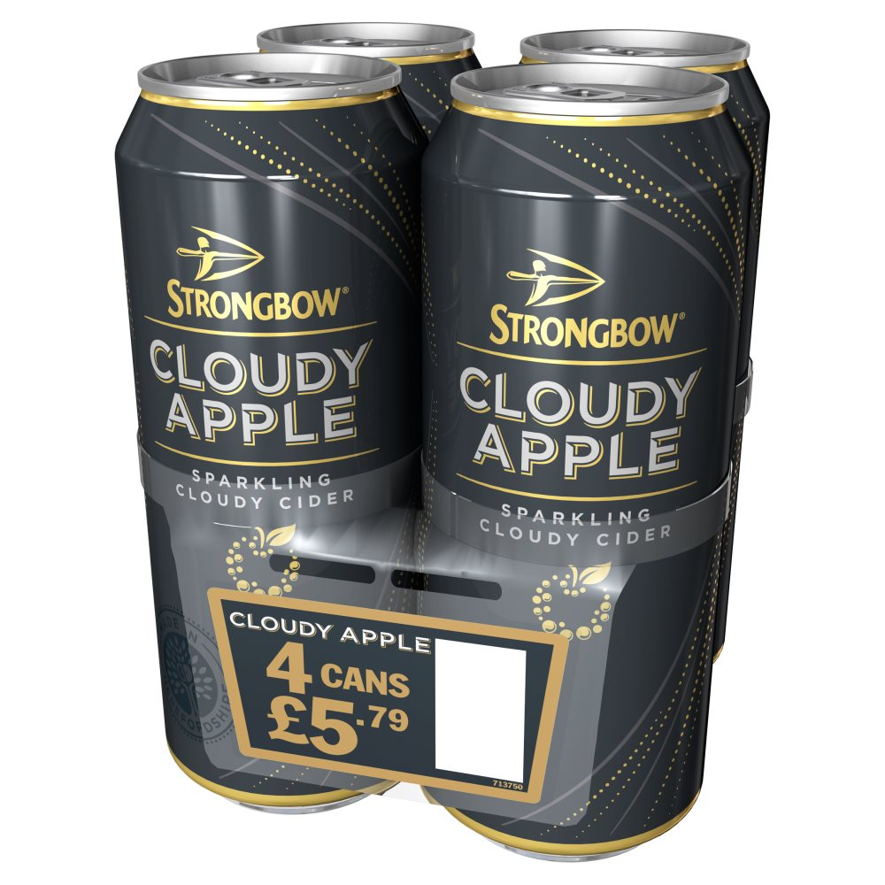 Strongbow Cloudy Apple 4 For £5.79