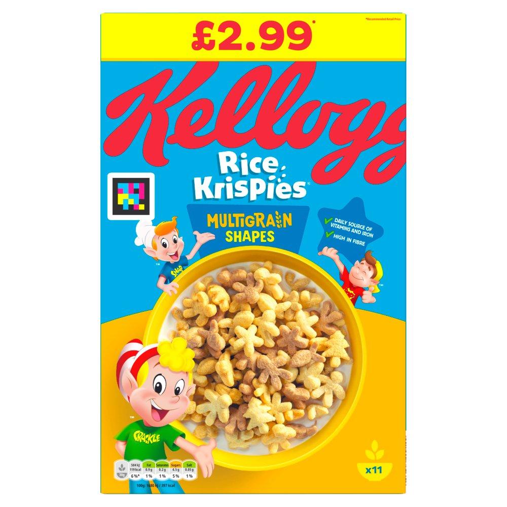 Kellogg's Rice Krispies Multigrain Shapes 350g