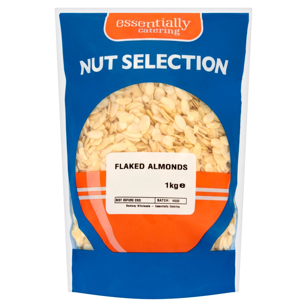 Essentially Catering Nut Selection Flaked Almonds 1kg