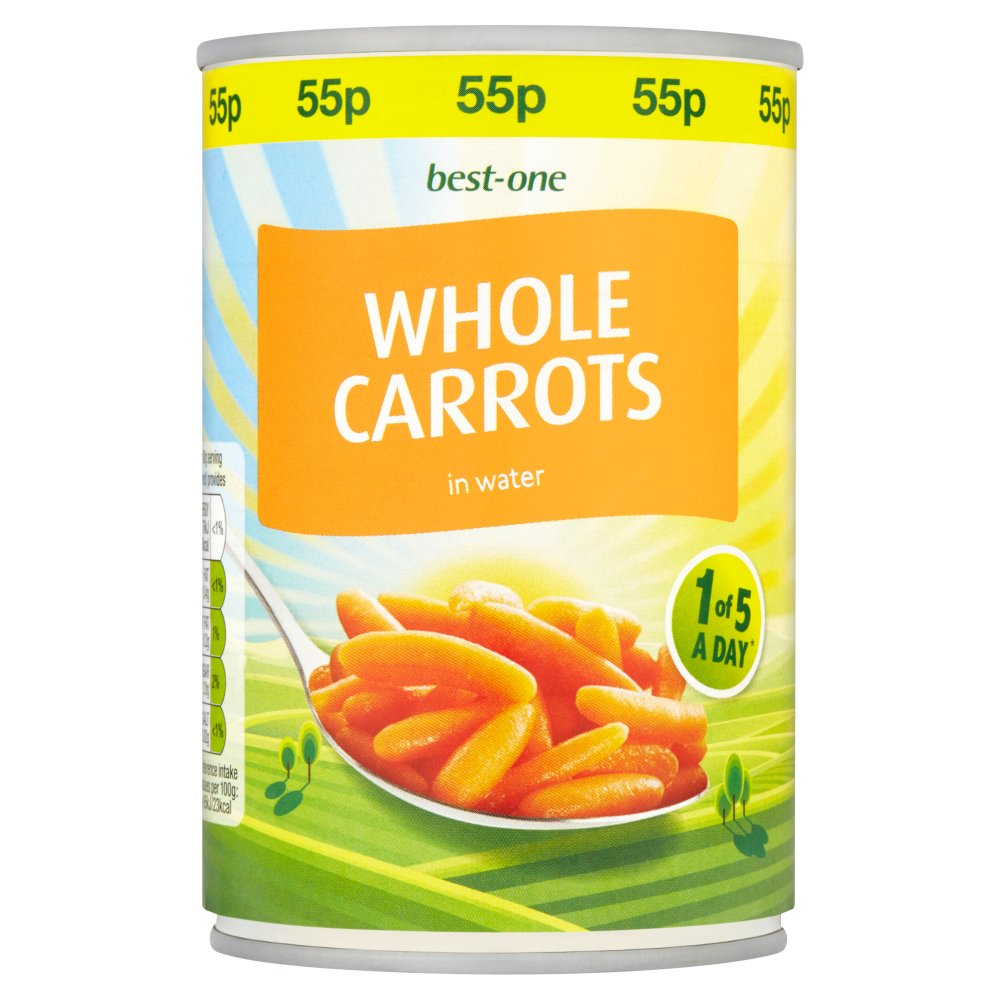 Best-One Whole Carrots in Water 300g