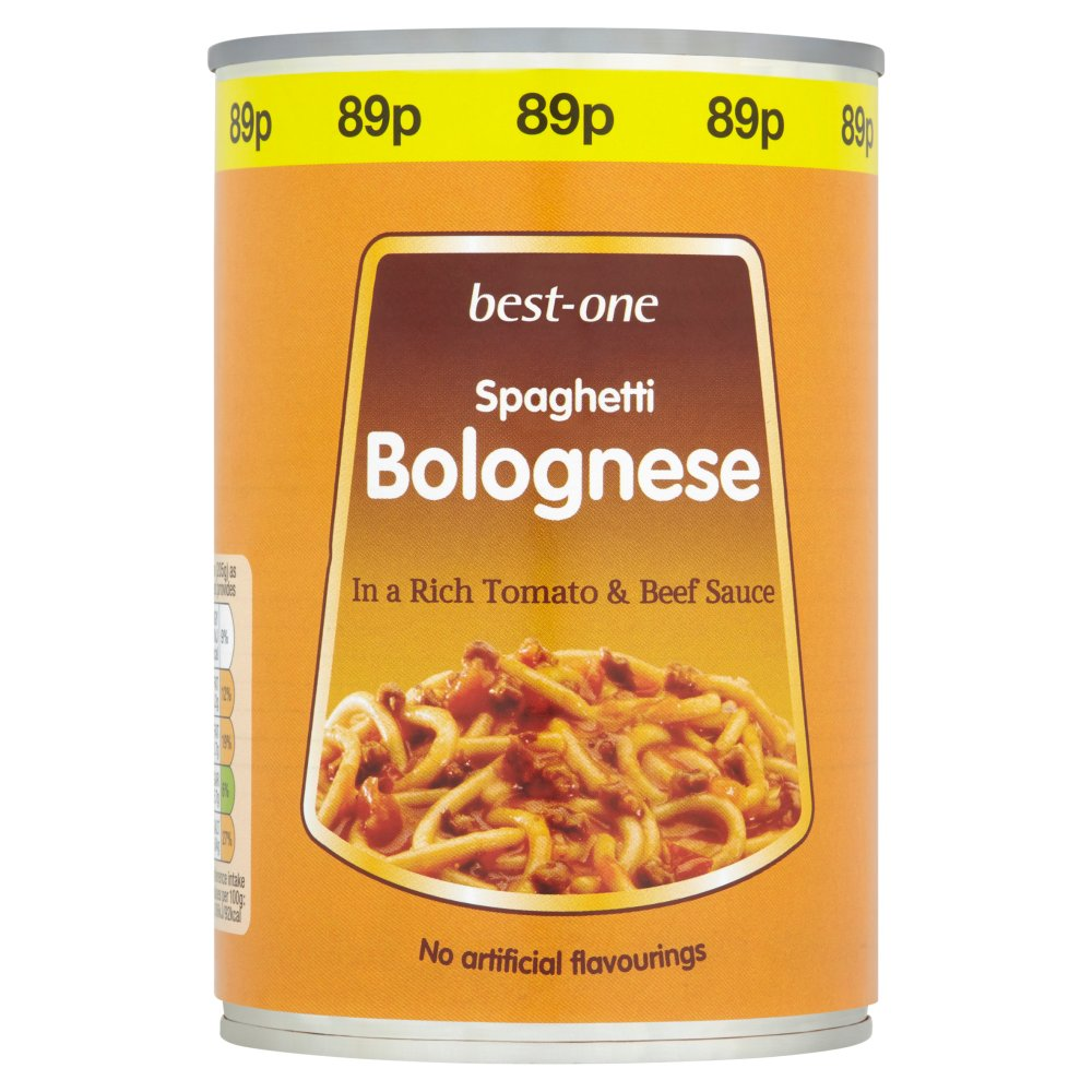 Best-One Spaghetti Bolognese in a Rich Tomato & Beef Sauce 410g