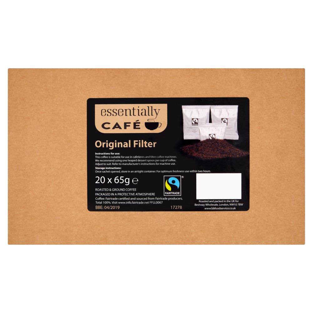 Essentially Café Fairtrade Original Filter 20 x 65g