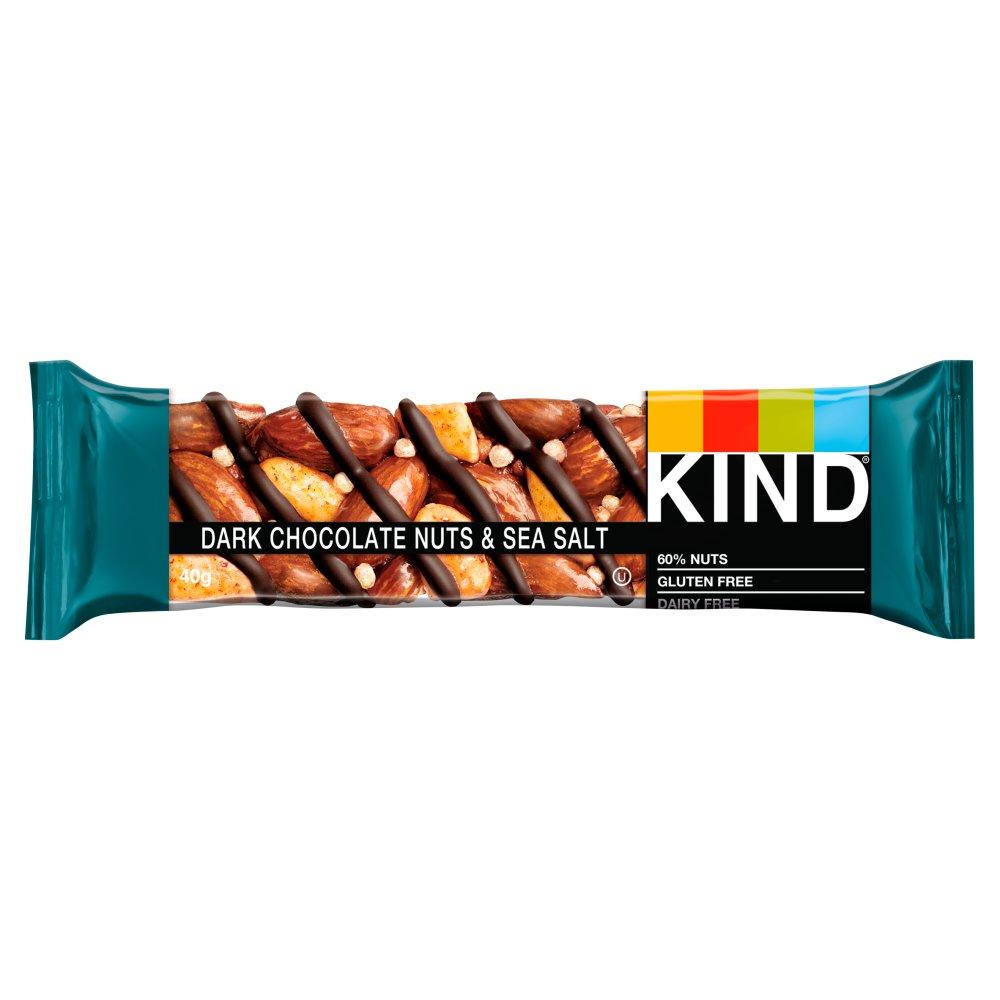 KIND Dark Chocolate Nuts & Sea Salt Snack Bar 40g