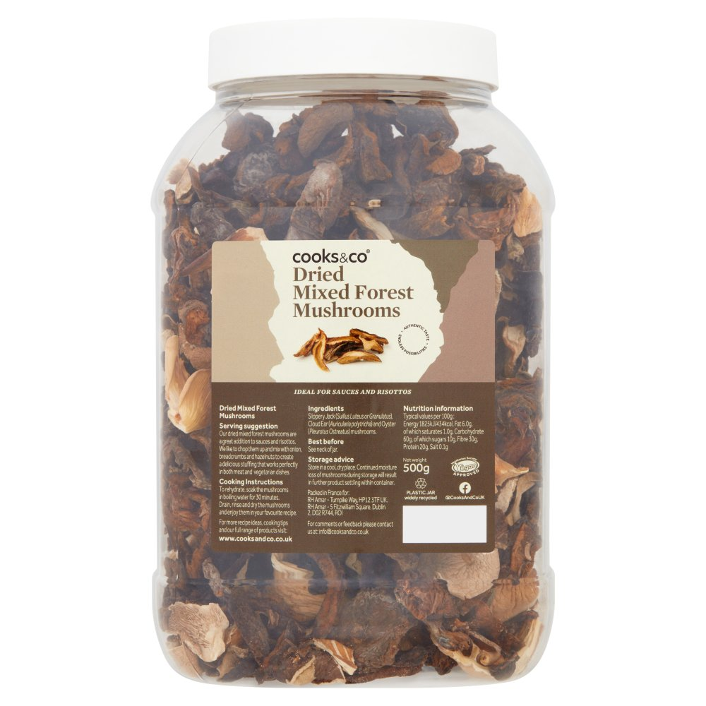 Cooks & Co Dried Mixed Forest Mushrooms