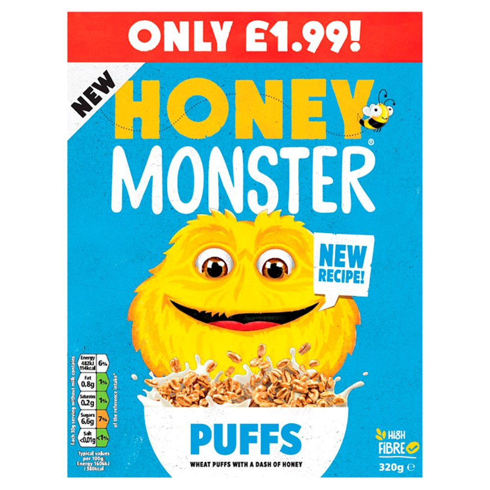 Honey Monster Puffs £1.99