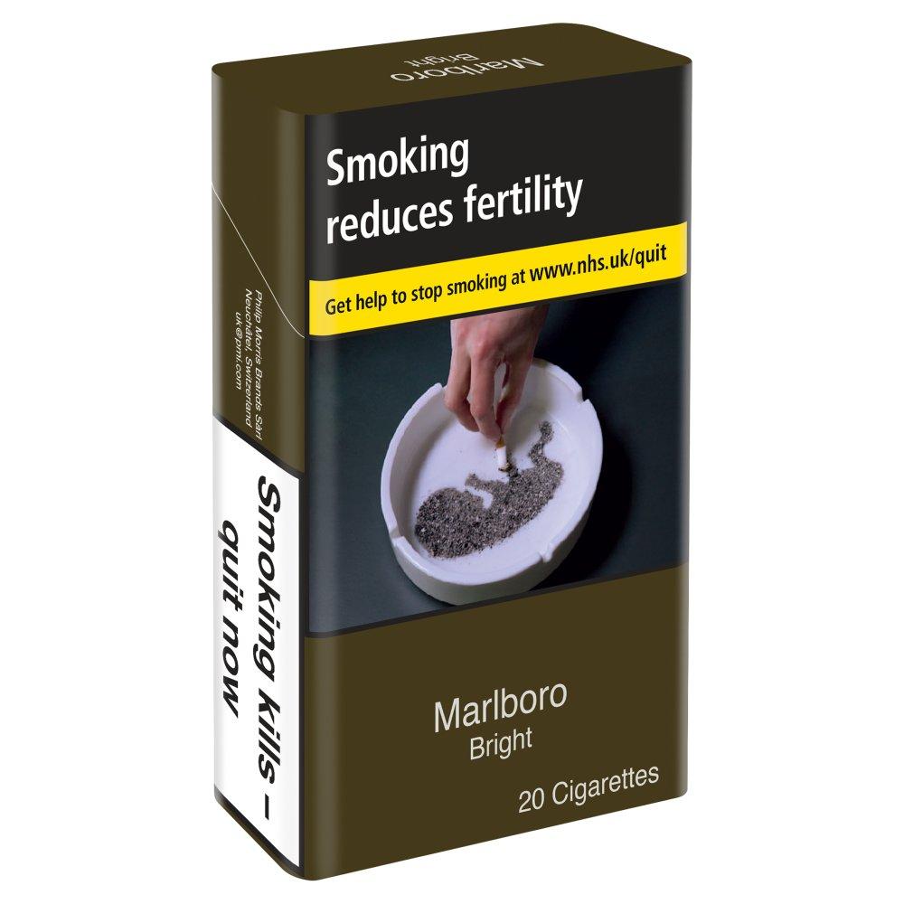 Marlboro Bright KS 20 Cigarettes