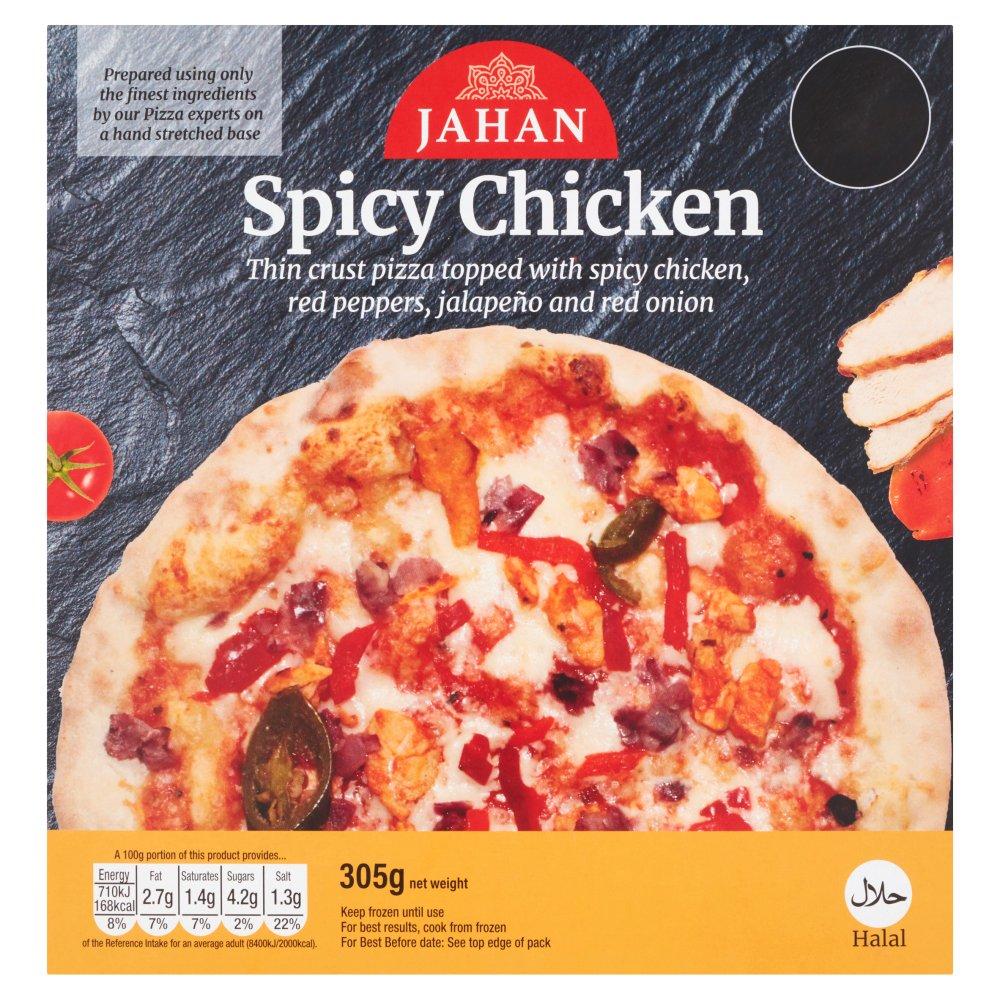 Jahan Spicy Chicken Pizza 305g