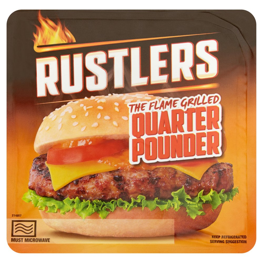 Rustlers Quarter Pounder PM £1.99
