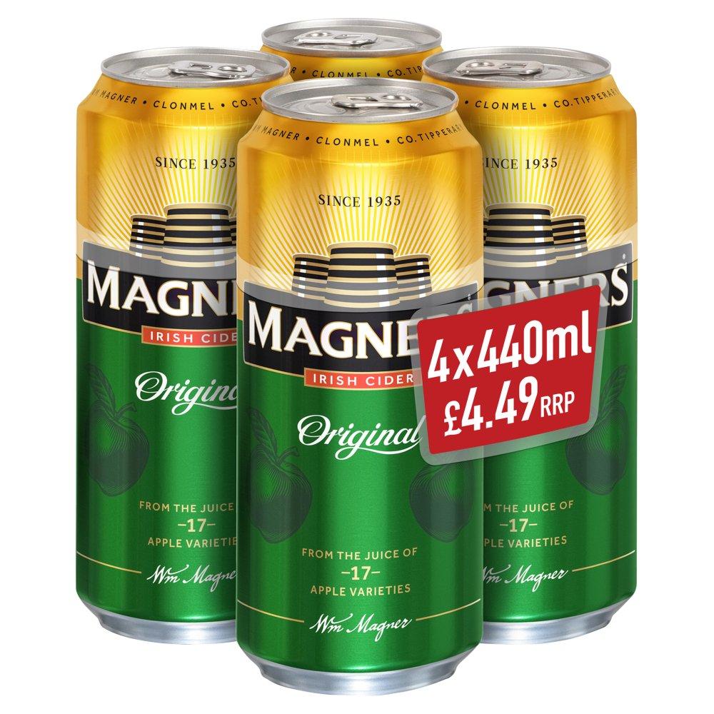 Magners Irish Cider Original Apple 4 x 440ml