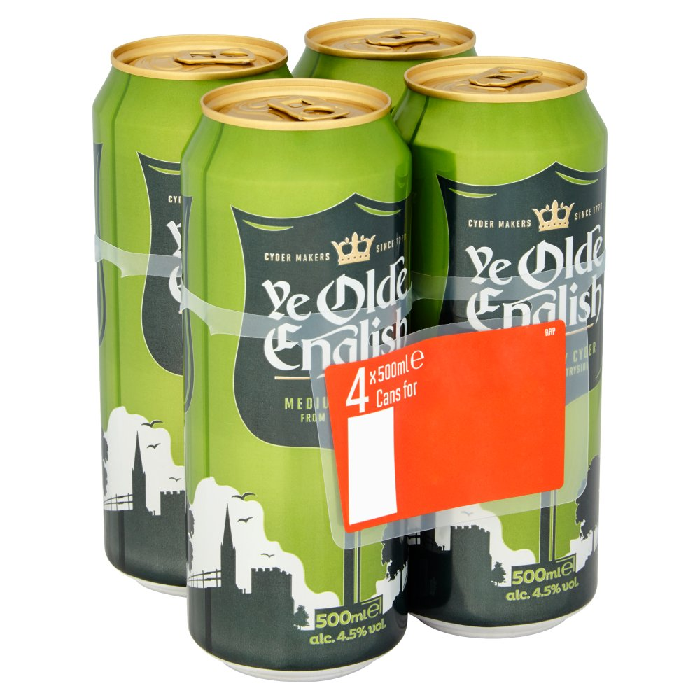 Olde English PM 4 For £3.99 2 For £7
