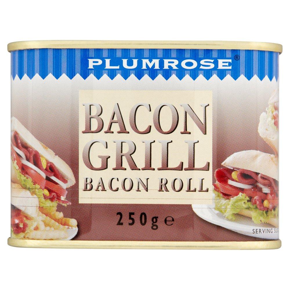 Plumrose Bacon Grill Bacon Roll 250g