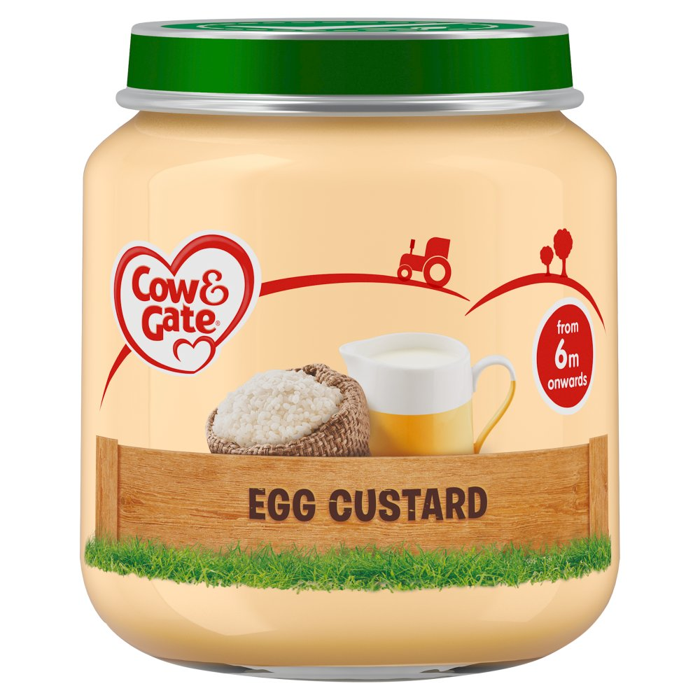 Cow & Gate Egg Custard