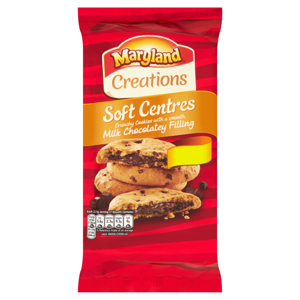 Maryland Soft Centers Chocolate £1.39
