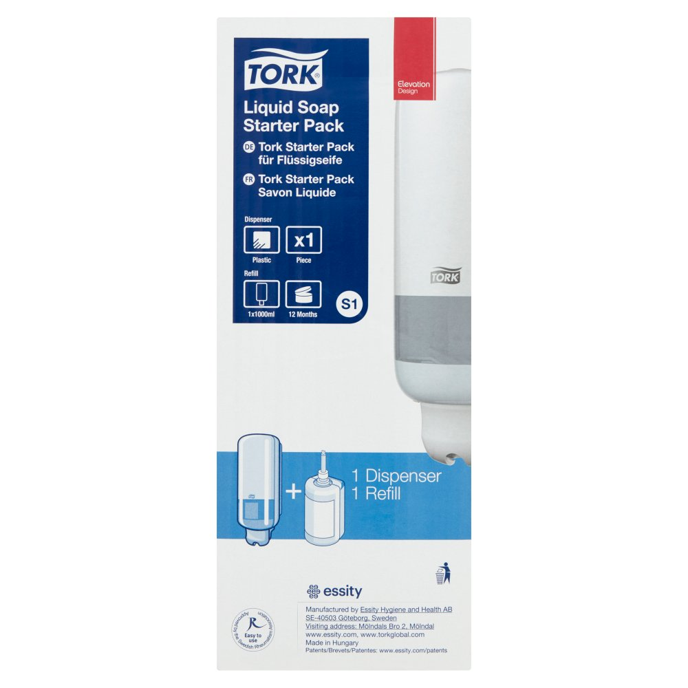 Tork Starter Pack Dispenser Soap Liquid