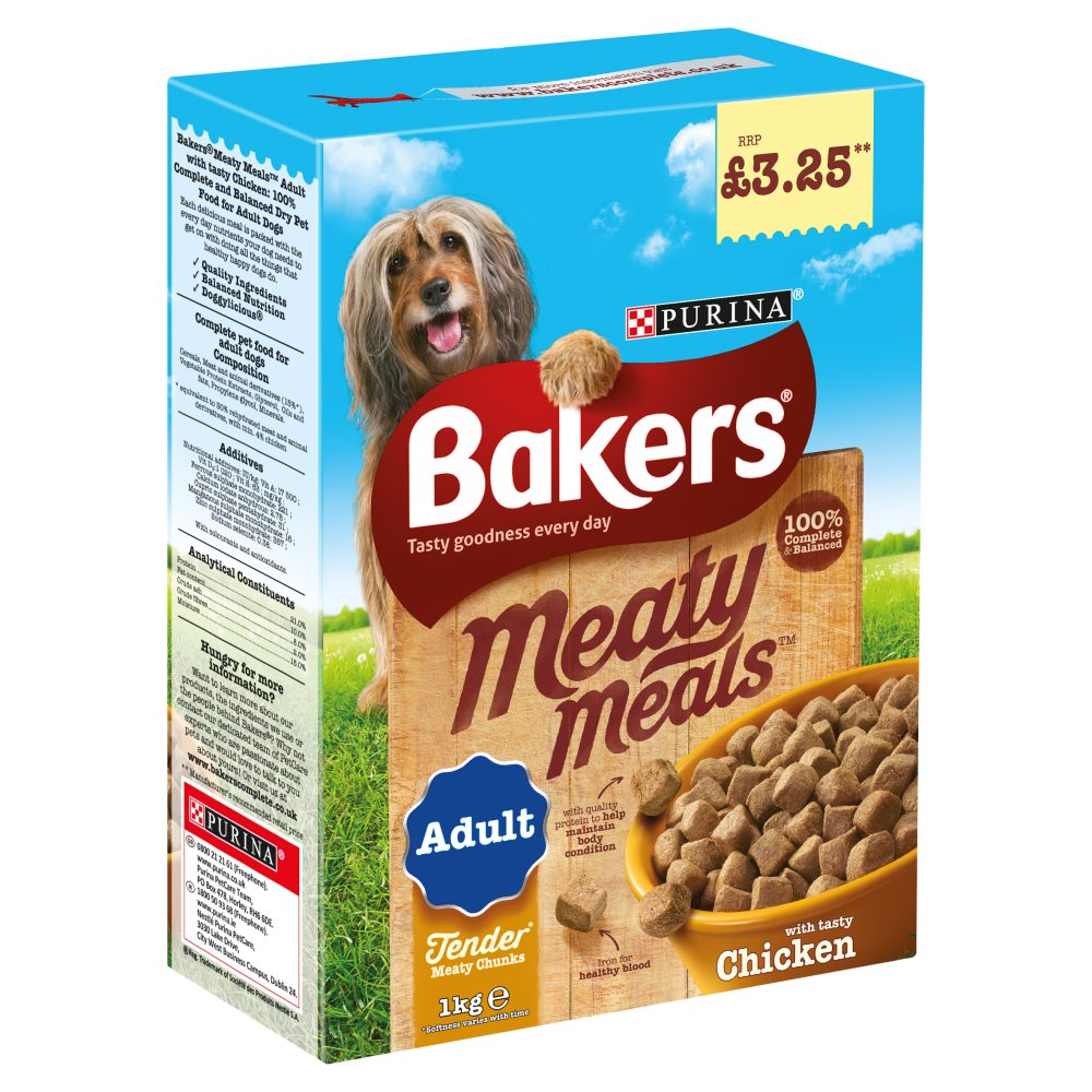 Bakers Meaty Meals Chicken PM £3.25