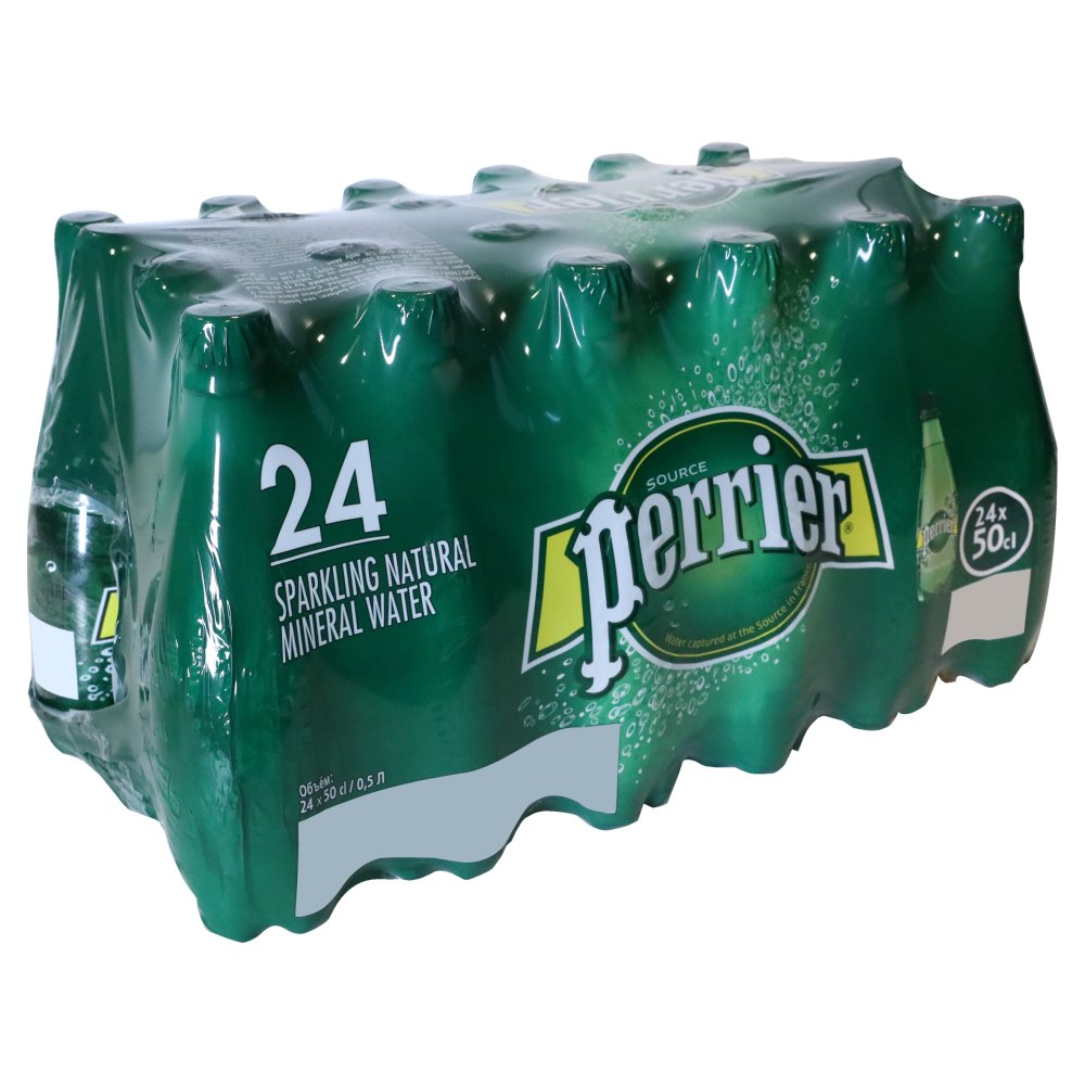 Perrier Sparkling Natural Mineral Water 24x500ml