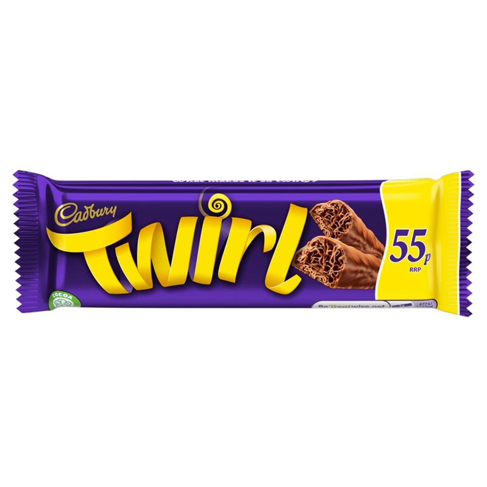 Cadbury Twirl 55p Chocolate Bar 43g
