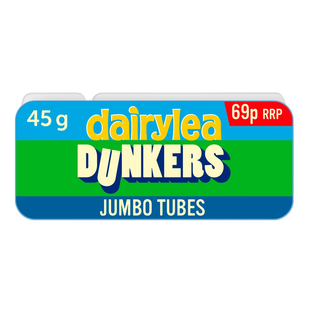 Dairylea Dunkers Jumbo Tubes 69p 45g