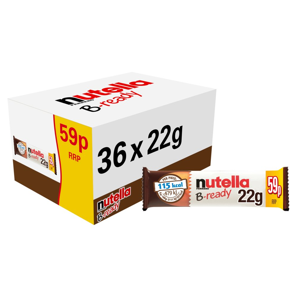 Nutella B-ready 22g Single Bar PMP