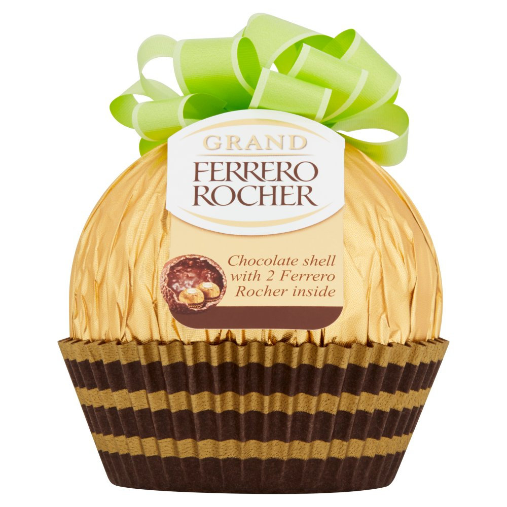 Ferrero Rocher Chocolate Shell with 2 Ferrero Rocher Inside 125g