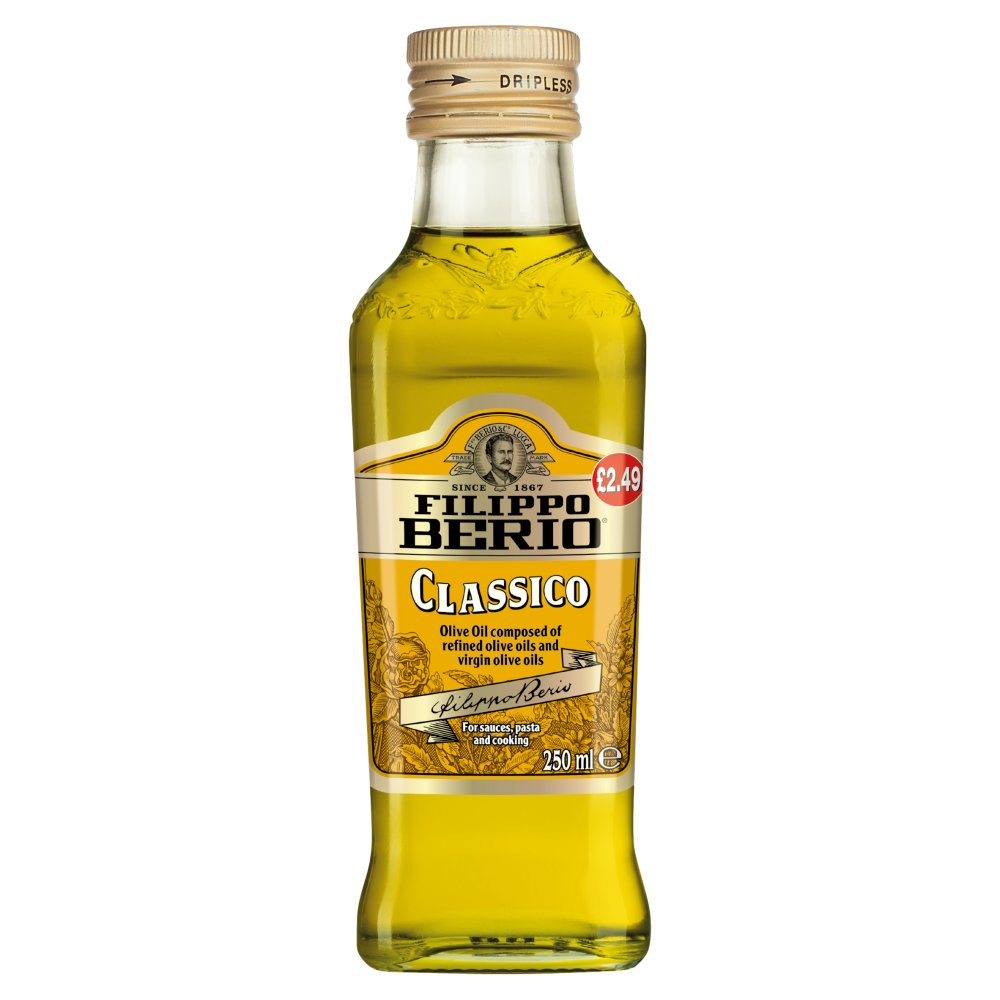 Filippo Berio Pure Olive Oil 250ml